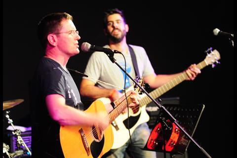 Raising the bar: 2KBW perform at Law Rocks Unplugged at the Bedford, Balham